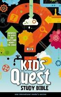 Kids' Quest Study Bible-NIRV: Answers to Over 500 Questions about the Bible (Har