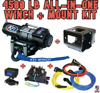 4500 LB KFI Winch/Mount Combo - '18-19 Can Am Maverick Trail 800 / 1000