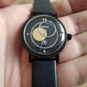 Raketa watch Copernicus, Moon Sun arrows, Copernic Soviet watch mechanical watch