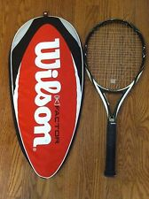 Wilson K Factor tennis racquet Surge Factor with case Nanotechnology used