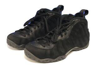 Nike Air Foamposite One Premium Triple Black Suede  575420-006 Size 7 Suede