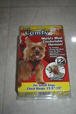 COMFY CONTROL Dog Harness Small W/ 5' Leash Telebrands As Seen On TV (New)!!!!!!