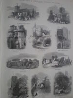 Views of Brighton and Sussex 1872 old prints my ref S