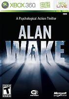 Alan Wake (Microsoft Xbox 360, 2010) Complete