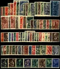 Poland 1952 MNH Year set