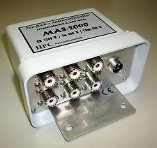 2x2-fach Antennenschalter MAS-2000 / 0-500 MHz UHF-Norm
