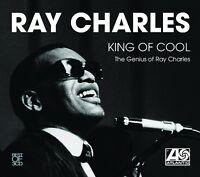 RAY CHARLES - KING OF COOL 3 CD BOX SET NEU