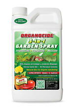 Organocide 3 in 1 Garden Spray 32 oz ounce Qt- Insecticide Spider Mite Killer