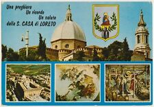 UN SALUTO DALLA CASA DI LORETO - VEDUTINE (ANCONA) 1980