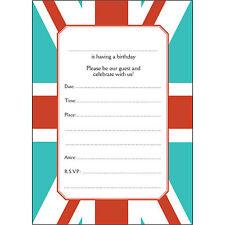 Iras peripheral visions birthday adult greeting cards invitations 20 birthday party invitations fill ins bpfi 050 union jack m4hsunfo