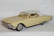 1961 Ford Thunderbird  Promo Car, Casino Cream with White Top, Nice Original
