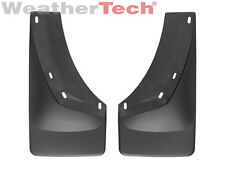 WeatherTech No-Drill MudFlaps - Chevy Silverado -2008-2013 - Front Pair