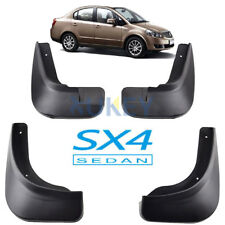 FIT FOR 2006~2012 SUZUKI SX4 SEDAN MUD FLAP FLAPS SPLASH GUARD MUDGUARDS FENDER