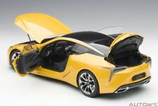 Autoart LEXUS LC 500 METALLIC YELLOW Composite model in 1/18 Scale New In Stock!