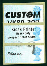 Post & Go: 2nd class TEST LABELS - year code MA14 - FULL PHOSPHOR BAND