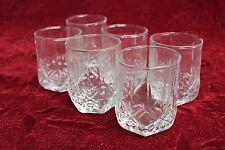 6 x 250ml Glass Beer Mug Vodka Whiskey Wine Tea Juice Bar Mugs Party