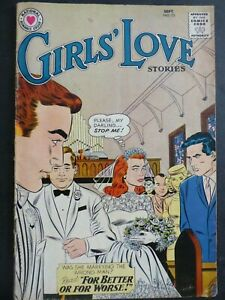 Girls' Love Stories #73 ~ (1960 DC) ~ John Romita cover and art! ~ VG