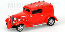 Minichamps amweican hot rod rouge red, 1:43 Limited Edition