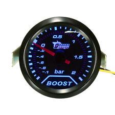 2inch 52mm Universal Car Auto LED Turbo Boost Vacuum Press Gauge Meter Bar Point