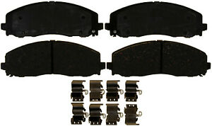 Disc Brake Pad Set-Ceramic Disc Brake Pad Front ACDelco Advantage 14D1589CH