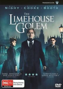 THE LIMEHOUSE GOLEM DVD, NEW & SEALED, 2018 RELEASE, REGION 4, FREE POST