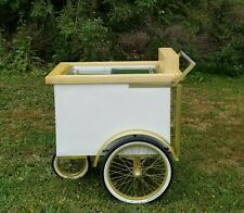 Popsicle And Ice Cream Push Cart