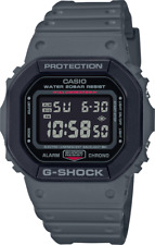 Casio G-Shock Square Face DW5610SU-8 Grey Shock Resistant 2020 Brand New Withtag