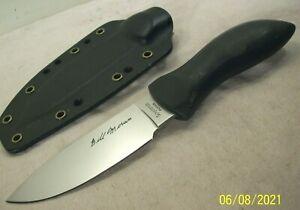1990's~SPYDERCO~BILL MORAN~FB01~CUSTOM DESIGN SPORTSMAN'S FIELD KNIFE w/SHEATH~