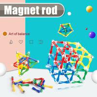 124Pcs/Set Educational Magnetic Construction Sticks Building Blocks Toy For Kids
