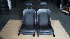 Orig. Audi Q7 4L S-Line Vordersitze Leder Alcantara Sportsitze Sitze SHZ schwarz