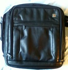Victorinox Swiss Army Black Expandable Laptop Bag Case