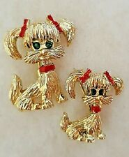 Vintage Gerry's Dog Scatter Brooches / Pins