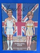 1982 CHUCK & DI HAVE A BABY:PAPER DOLL BOOK by Will Elder SC VG+ UNUSED