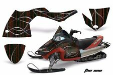 AMR Racing Sled Wrap Polaris Fusion Snowmobile Graphics Kit 2005-2007 THE ONE R