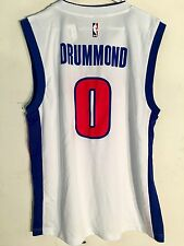 40da0fb58 adidas NBA Jersey Detroit Pistons Andre Drummond White Sz L