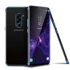 Samsung Galaxy S9 Plus Hülle Schutzhülle Handy Tasche Slim Case Schutz Folie