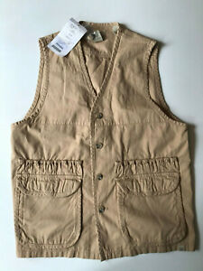 Beretta Cotton Vest Curry Safari Clay Skeet Shooting Clothing RRP £85 GUA2