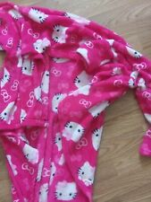 HELLO KITTY Girls Pretty in Pink SNUGGIE Snuggle Fleece Blanket  ~
