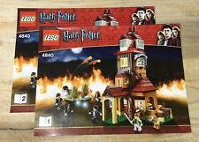 LEGO ® de recette Harry Potter - 4840 des Faucheur ungelocht/instructions
