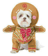 Gingerbread Pup Dog Pet Christmas Costume Size X-Small