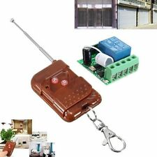 DC12V 433MHZ 1CH Channel DIY Wireless Relay Remote Control Switch + Receiver