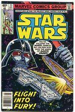 Star Wars 23 Marvel 1979 VF Darth Vader Millenium Falcon Carmine Infantino