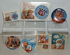 Cherished Teddies Lot of 6 Buttons & 1 Magnet New