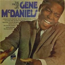 GENE McDANIELS 'THE FACTS OF LIFE' UK LP