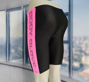 Vintage Bike Spandex Shorts by BODY GLOVE Pink Lycra Unpadded Sz Small