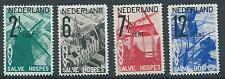 1932 TG Nederland  A.N.V.V.zegels NR.244-247. postfris, mooie serie!