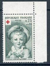 STAMP / TIMBRE FRANCE NEUF  N° 1367a ** CROIX ROUGE FRAGONARD / ISSUS DE CARNET