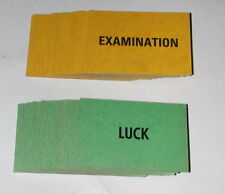 Go The Head of the Class 1967 Game Pieces - Luck Exam Cards