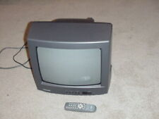 "Toshiba CF13H22 13"" CRT TV Color Television With Remote"