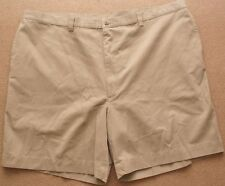 Big & Tall Men's Haggar Generations Flat Front Casual Shorts, Khaki, Size 50